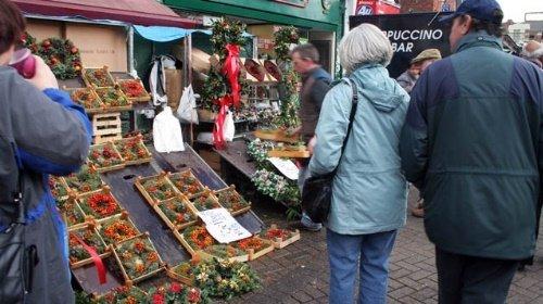 Melton Mowbray Victorian Market And Christmas Tree Festival