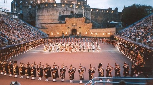 THE ROYAL EDINBURGH MILITARY TATTOO & THE TROSSACHS